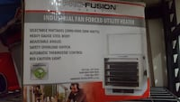 Industrial Fan forced heater (NIB) Bedford, B4B 1H3