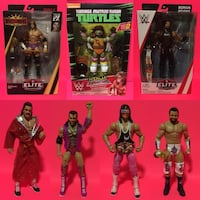 WWE Elite Action Figure Lot Mattel Playmates TMNT Legends Basic! Port Perry