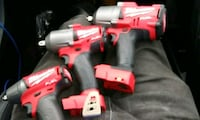 Milwaukee fuel m18 impact wrenches