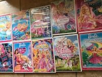 Barbie DVDs 11 was total $1.00 each or $9.00 for all 11 Marrero, 70072