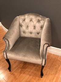 Brand new. sexy mademoiselle sofa chair silver