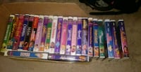 Disney classic and black dimond VHS tapes Virginia Beach