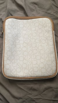 White and brown leather tablet case Lake Havasu City, 86404