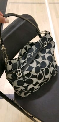 Authentic Black Coach purse  Edmonton, T5E 6N4