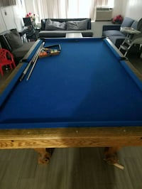 blue and brown pool table Hawthorne, 90250