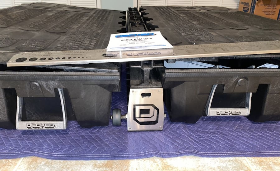 """DECKED truck bed organizer for 2009-2018 Ram 1500 5'7"""" bed length b523650a-0bcc-41cf-b490-6023ba903309"""
