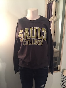 black Sault College long sleeve shirt