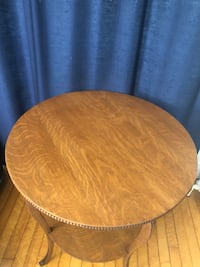 round brown wooden table top Orono, 04473