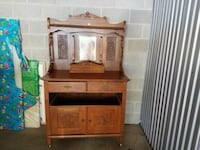 Oak  Hutch Waldorf