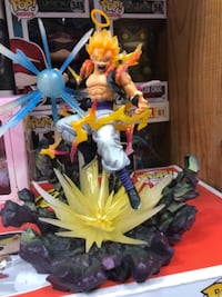 Gogeta dragon Ball z figure Los Angeles