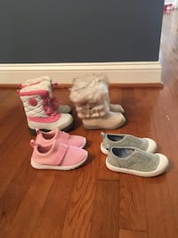 Girls shoes/boots lot Falls Church, 22042