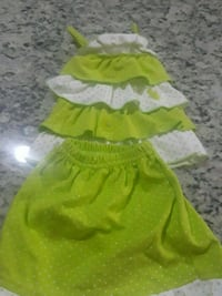 green-and-white skirt and tier spaghetti strap top Orlando, 32824