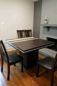 Dining table w/ storage foundation West Springfield, 22152