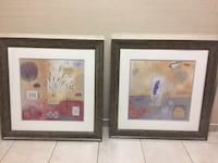 2 piece heavy framed print art Washington, 20002