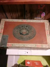 Vintage cigar box el verso Galloway, 43119
