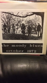The moody blues October 1972!!