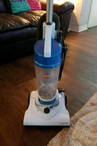 white and blue upright vacuum cleaner London, N6K 1L4