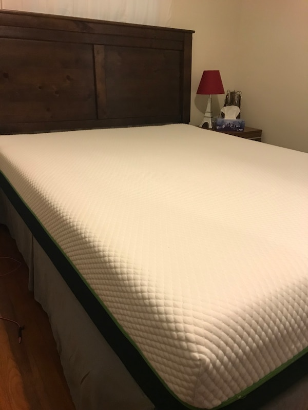 Used Queen Zeopedic 10 Memory Foam Mattress For Sale In Saint