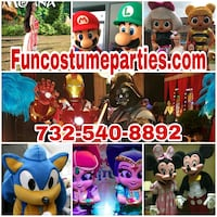 Costumed characters Rahway