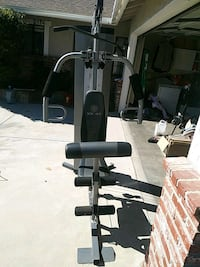 black and gray lat-pull down machine Simi Valley, 93065