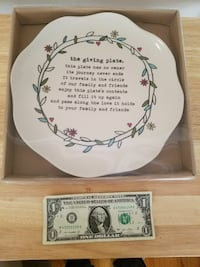 The Giving Plate - New in Box Norfolk, 23503