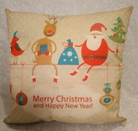 "Brand New ""merry christmas & happy new year"" pillow Rocky Point"