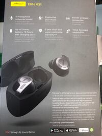 Jabra GB Elite 65t engineered for the best true wireless calls and music experience Toronto, M9V 2X6