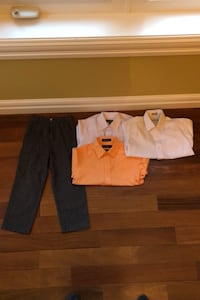 Boys size 5 pants and sizes 6-7 dress shirts Edmonton, T6R 0B1