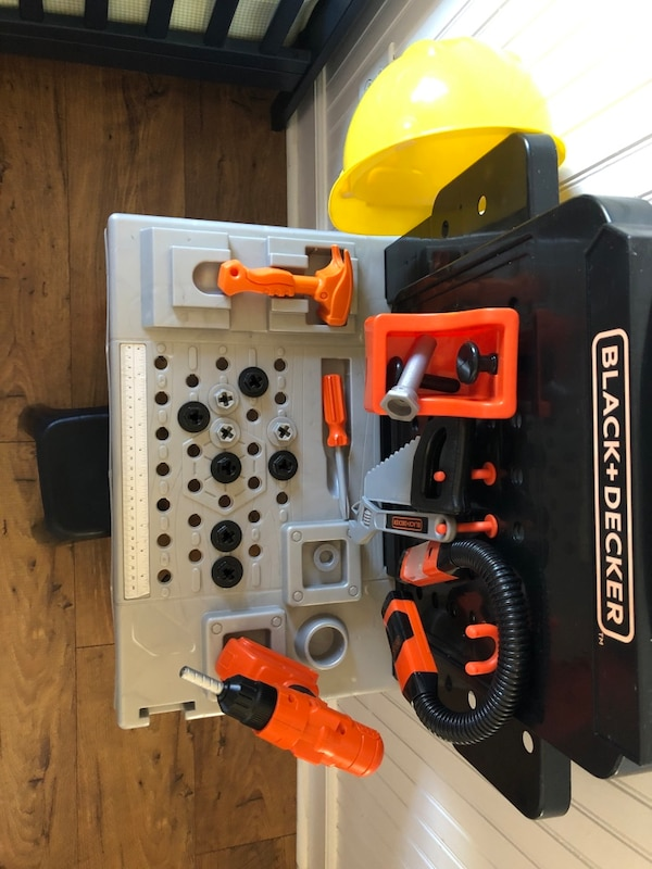 Used Tool Bench For Kids Black Amp Decker For Sale In