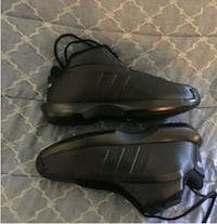 pair of black leather shoes Los Angeles, 90007