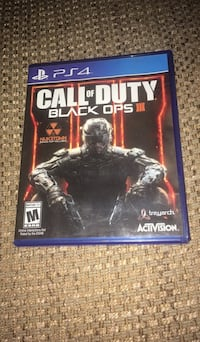 Call of Duty Black Ops 3 PS4 game case 380 mi