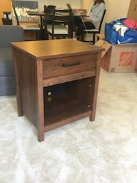 Brown nightstand Arlington, 22203