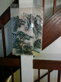 Bamboo scroll painting