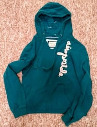 Teal Aeropostale pull over hoodie Victoria, V8Z 3E1