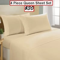 AJ-BRAND NEW- Froehlich 1000 Thread Count 100% Cotton Sheet Set Mississauga