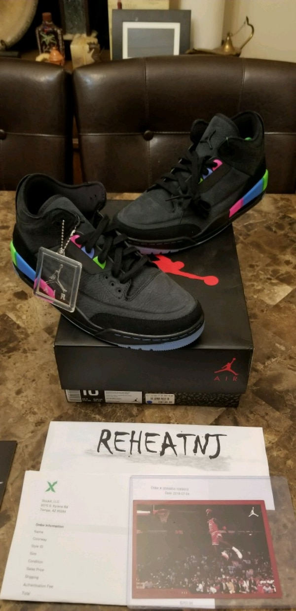 Used NIKE AIR JORDAN 3 RETRO SE QUAI 54 US Mens Size 10 for sale in  Woodbridge Township - letgo 9b00bf9eb