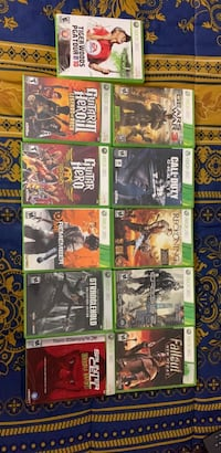 11 - Xbox 360 games  with 1 - PS4 game Philadelphia, 19151