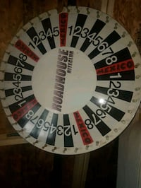 8 ft Prize Wheel with stand