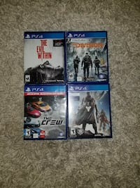 PS4 Games For Sale  Piscataway Township, 08854