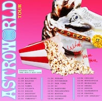 Astroworld tour 41 km