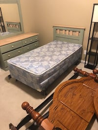 gray and white floral mattress Alabaster, 35007