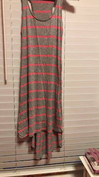 Grey and pink striped sundress  Chicago, 60634