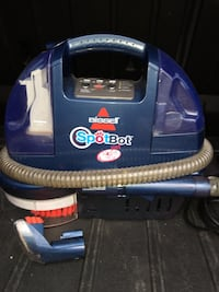 Bisell spotbot vaccum cleaner for pets