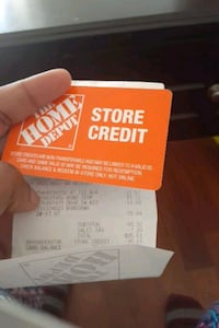 HOME DEPOT STORE CREDIT CARD