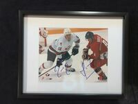 Adam Foote & Martin Havlat Signed and framed photo  Châteauguay, J6K 2A7