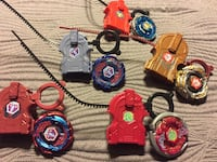 5 Complete Beyblade Metal Fusions from 2010  Ajax, L1T 1V1