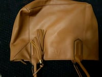 brown leather zip-up jacket St. Catharines, L2M 4G1