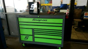 New Snap-On box, with tools
