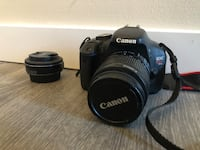 Canon t3i with kit lens