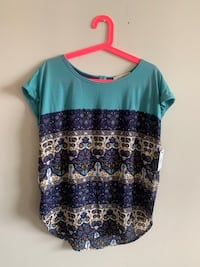 Rewind Printed Top Ashburn, 20148